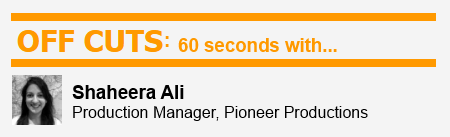 60 Seconds With Pioneer Productions' Shaheera Ali