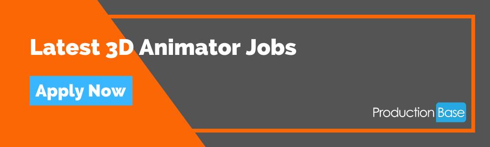 Latest 3D Animator Jobs