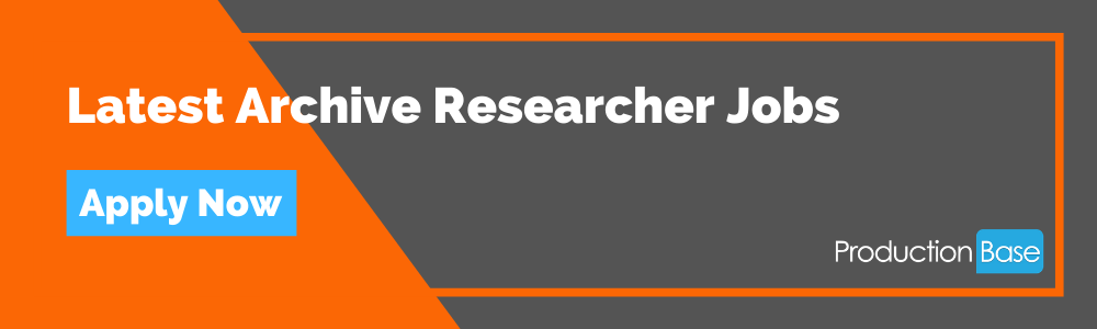 Latest Archive Researcher Jobs