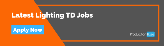 Latest Lighting TD Jobs