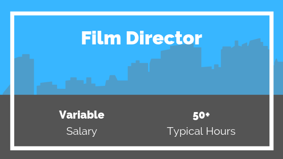 Film Director Salary and working hours