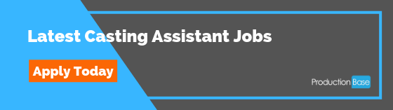 Casting Assistant Jobs
